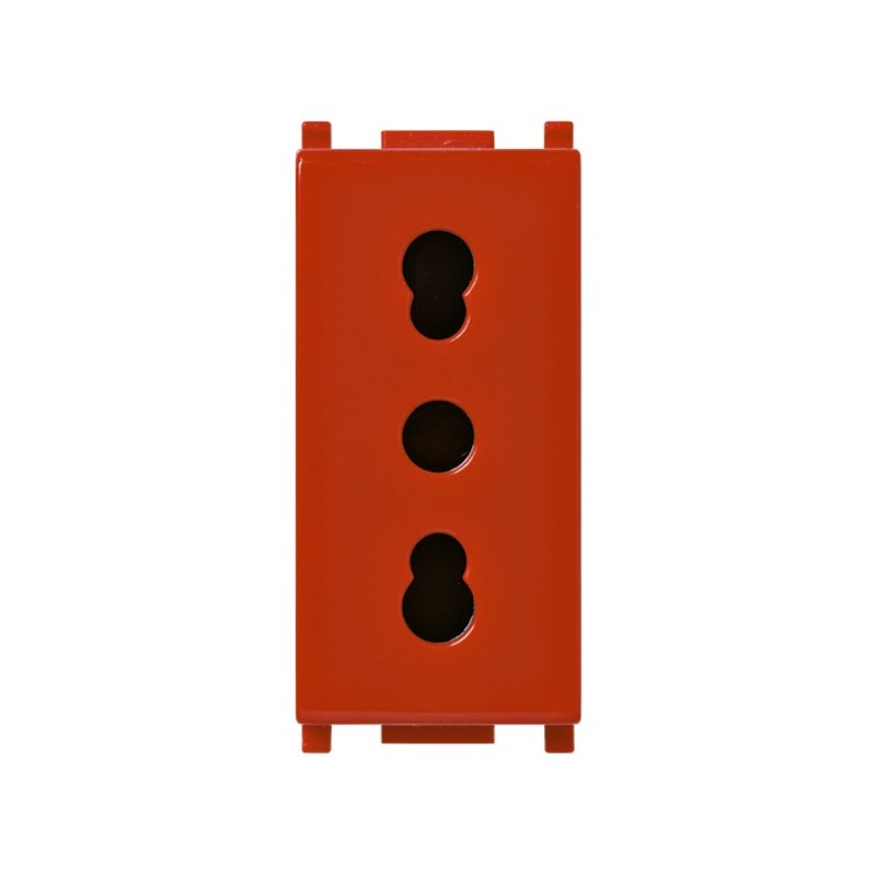 VIMAR PLANA OUTLET BYPASS RED 14203.R