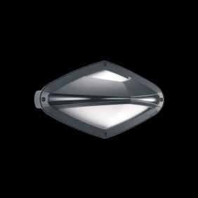 Plafoniera Lombardo Diva titanio E27 60W IP66 LB2832G