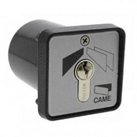 Selettore a chiave Came da incasso completo di 2 chiavi 001SET-I