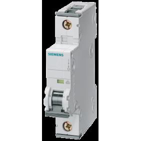 Interruttore Magnetotermico Siemens 1P 10A 6kA Tipo C 1 Modulo