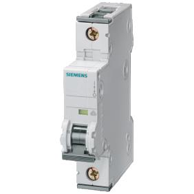 Circuit breaker Siemens 1P 10A 6 ka Type C 1 Form