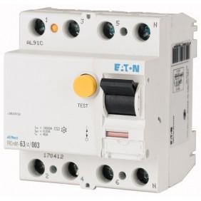 Interruttore Differenziale Eaton Puro 25A 4P 30Ma 4 moduli 170410