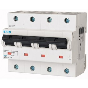 Interruttore Magnetotermico Eaton 100A 4 poli 20KA curva C 211807