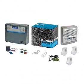 Kit Allarme XM Hiltron con centrale XMA6000  con accessori KXMA6000GSM