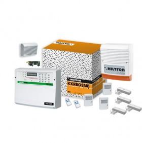 kit Allarme XR Hiltron via radio centrale protec8GSM e accessori KXR8GSMB