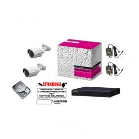 Kit Hiltron Videosorveglianza Dvr 16Ch h264 hard disk 500GB THK216H264