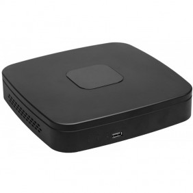 Registratore NVR Hiltron 4CH POE+HD1TB VGA-HDMI...