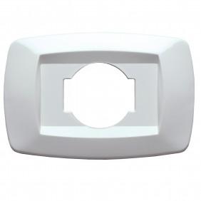 Master modì placca bianco per presa unel schuko MD10NU