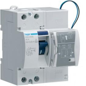 Interruttore Differenziale Hager riarmo automatico 2P 40A 30MA A CDA240S