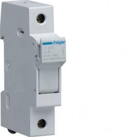 Portafusibile Hager 1P 32A 10,3X38 1 modulo LS501