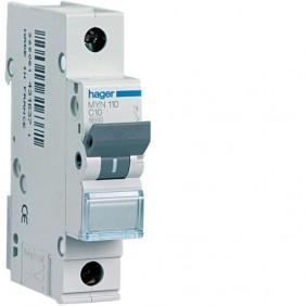 Circuit breaker Hager 1P 25A 4.5 KA C 1 form MYN125