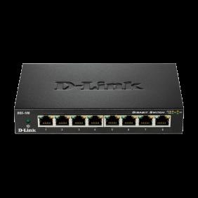 Switch Dlink 8 ports 10/100/1K METALBOX 870 DGS-108