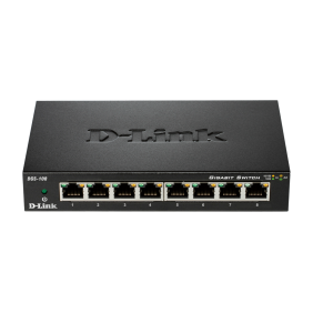 Switch Dlink 8 porte 10/100/1K METALBOX 870 DGS-108