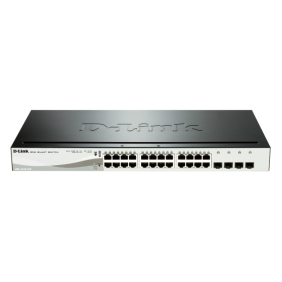 Switch Dlink 12+12POE+4SFP 10/100/1K 870 DGS-1210-24P