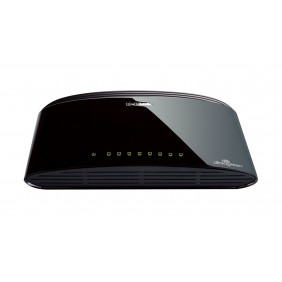 Switch Dlink Unmanaged 8-port 10/100 mbps 870 DES-1008D