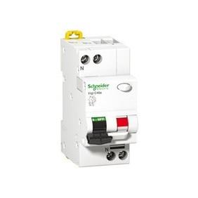 Residual current circuit breaker Schneider 1P+N 6A 30MA AC 6 KA A9N19285