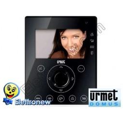 URMET Monitor Aiko per Sistema 2Voice. Colore nero 1716/1