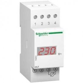 Voltmetro Schneider digitale 600V 2 moduli 15201
