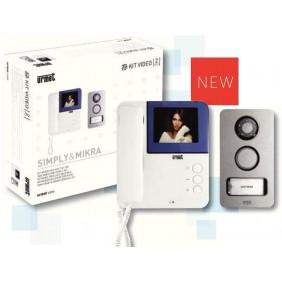 urmet kit videocitofono monofamiliare 2 fili 956 81
