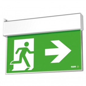 Emergency lamp Beghelli KNOWS UP LED EXIT flag 1/2/3H 4320