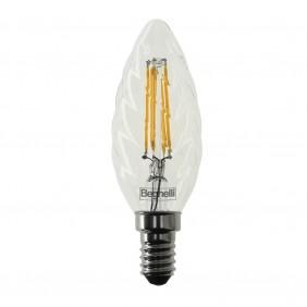 Bulb Beghelli twist Zafiro LED E14 4W 2700K warm light 56412
