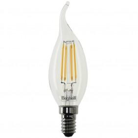 Bulb Beghelli flame Zafiro LED E14 4W 2700K...