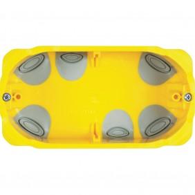 Bticino boîte d'encastrement universelle pour plaque de plâtre 3 modules PB503N