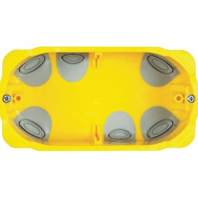 Box, recessed, Bticino universal for plasterboard for 3 modules PB503N