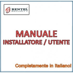 KIT Manual Bentel in Italian Absoluta ABS-DOC/ENG