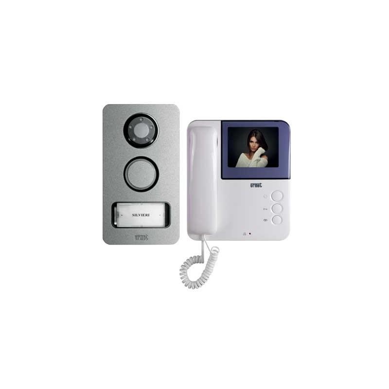 Schemi Elettrici Urmet : Urmet kit videocitofono monofamiliare fili