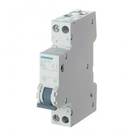 Interruttore Magnetotermico Siemens 1P+N 25A 6kA Tipo C 1 Moduli