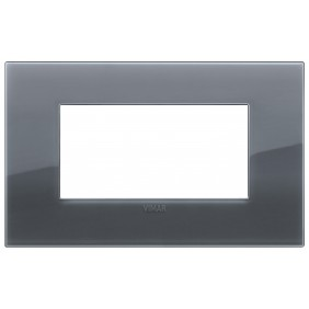 Vimar Arke plate 4 modules classic smoky grey...