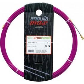 La sonda Arnocanali tirador de cable de alambre de acero de 7m de 4mm color púrpura A4.007MAX