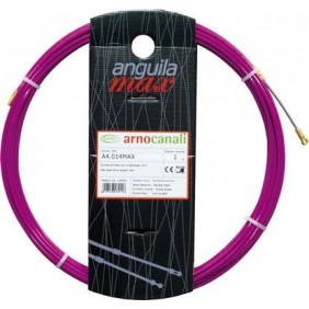 Probe Arnocanali wire cable puller, steel 7m 4mm purple color A4.007MAX