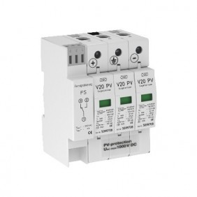Surge arrester OBO Type 2 600VDC protection 40Ka 5094576