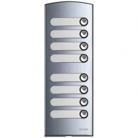 Targa Elvox 2 moduli 8 pulsanti per pulsantiera serie Targa 1300 1358
