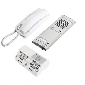 Kit de interfono Elvox sola familia de montaje enrasado 2 hilos 6209/K1