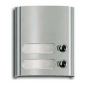 Plaque Forms Elvox with 2 keys series number plate 8000 color-grey 8002
