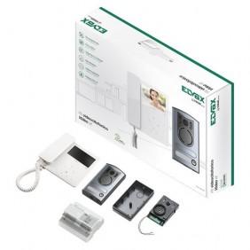 Kit Video intercom, Elvox TAB-to-wall display 4.3 system 2-wire 7549/M