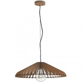 Sospensione Fan Calder colore legno naturale 1XE27  I-CALDER-S50