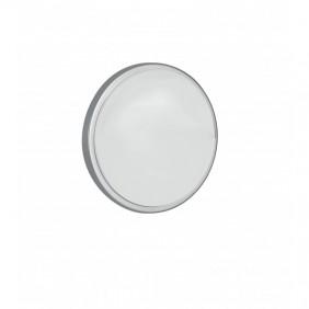 Plafoniera Fan tonda silver a LED 30W IP65 4K LED-EVER-XL SIL