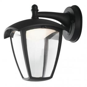 Lanterna Fan a LED 12W 4K IP43 colore nero per...