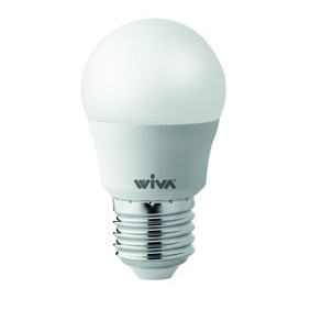 Lamp Wiva LED E27 4W BALL-6000K white light 12100219