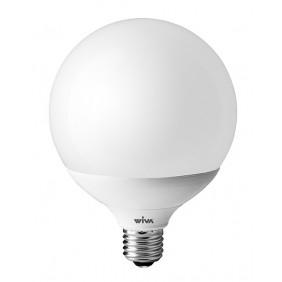 Lampada Wiva a LED E27 24W GLOBO 3000K luce calda D120 12100293