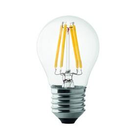 Lampada Wiva a LED E27 Sfera 4W 3000K luce calda 12100501