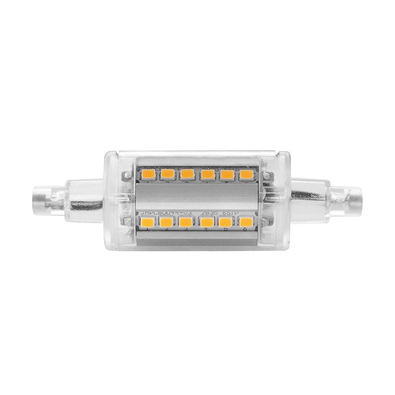 Lampada wiva a led r7s 78mm 5w 4000k luce naturale 12100603 for Lampadina r7s led 78mm
