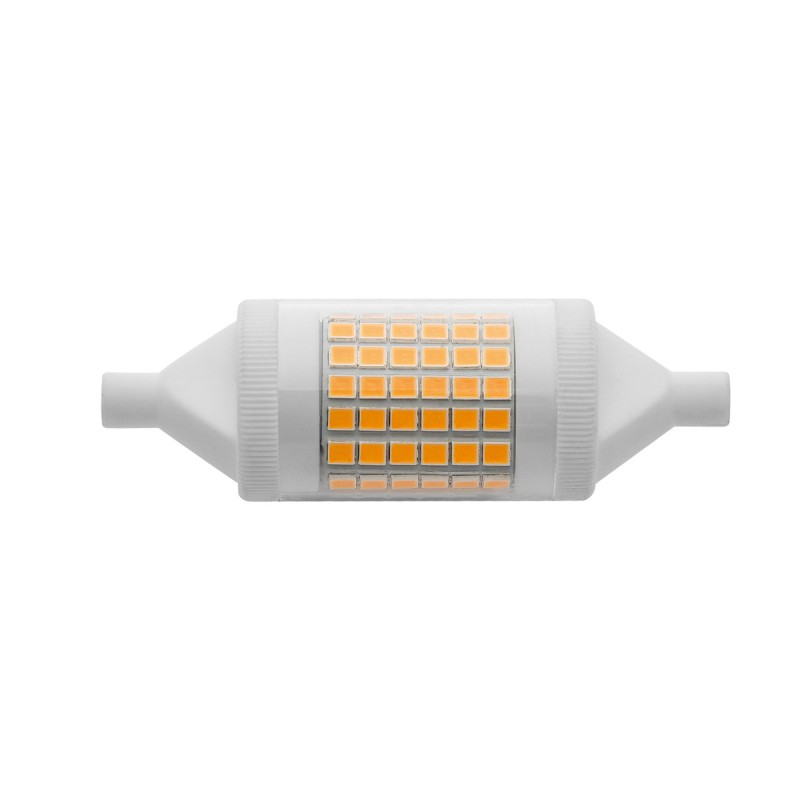 Lampadina wiva a led r7s 78mm 11w luce calda 12100604 for Lampadina r7s led 78mm