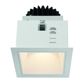 Lighthouse Collection Wiva White square LED 15W WW warm light 41100050