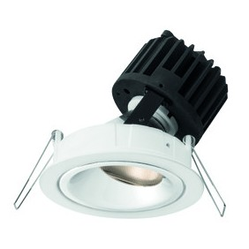 Lighthouse Collection Wiva Round White LED 15W 3000K warm light 41100060