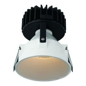 Faro Incasso Wiva tondo Bianco a LED 27W 3000K luce calda 41100072